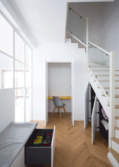 Contemporain Entrée by Agathe Marimbert architecte