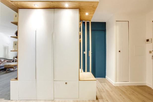 Contemporain Entrée by Aline Frémery Architecte d'intérieur