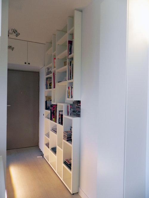 Images de d coration et id es d co de maisons appartement de 40m2 - Idee dressing entree ...