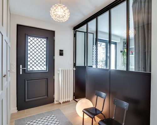 Entr e contemporaine photos et id es d co d 39 entr es de maison ou d 39 - Deco entree d appartement ...