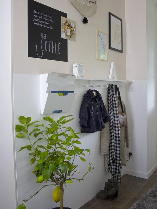 Petit hall d\'entrée : Photos et idées déco de halls d\'entrée de ...