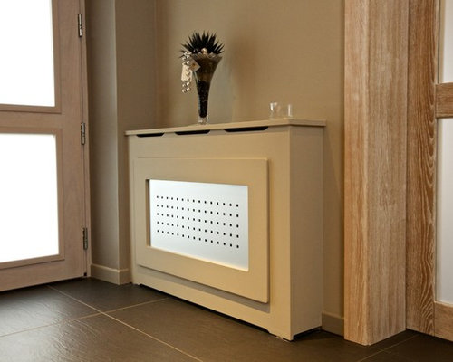 Modern Cache Radiateur Entryway Design Ideas Renovations Photos