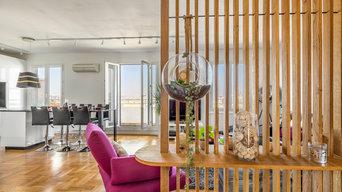 Rénovation appartement avec vue panoramique sur Lyon