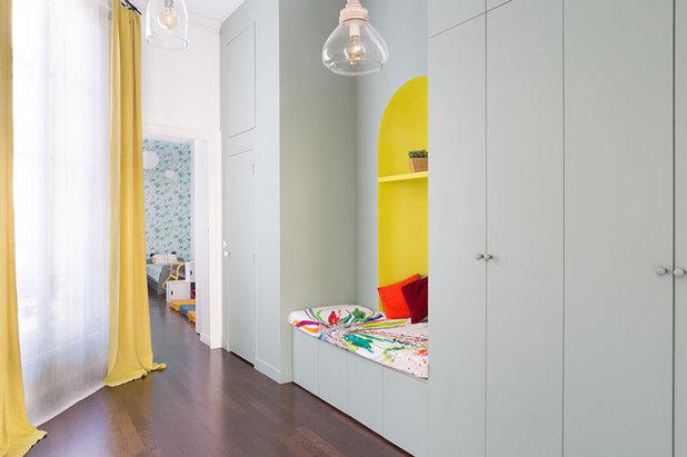 Contemporain Entrée by Lagom architectes