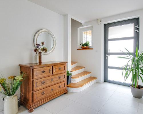 Hall d 39 entr e contemporain photos et id es d co de halls d 39 entr e de maison ou d 39 appartement for Taille porte entree