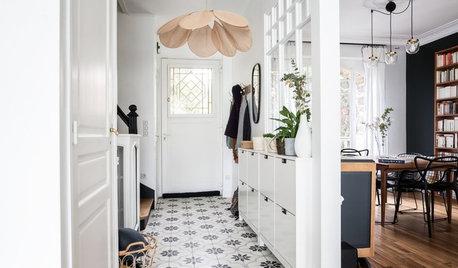 10 idées pour habiller le sol de son entrée