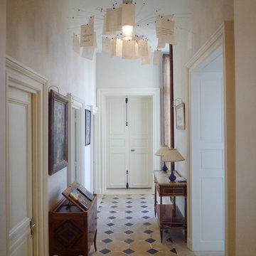 restructuration d'un appartement dans un hôtel particulier du XVIIIe siècle