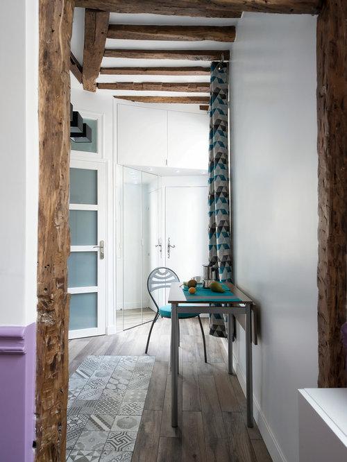hall d 39 entr e contemporain de taille moyenne photos et id es d co de halls d 39 entr e de maison. Black Bedroom Furniture Sets. Home Design Ideas