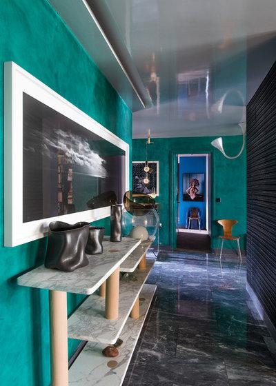Éclectique Entrée by Fabrice Ausset - Architecte DPLG