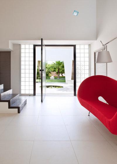 Contemporain Entrée by frederique legon pyra  architecte