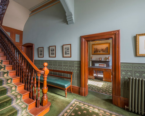 Victorian Foyer Ideas : Victorian melbourne entryway design ideas remodels photos