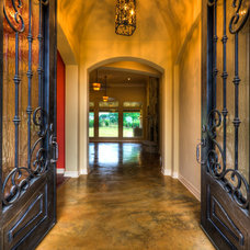 Mediterranean Entry by Jeff Watson Homes, Inc.