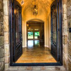 Mediterranean Entry by Jeff Watson Homes, Inc.