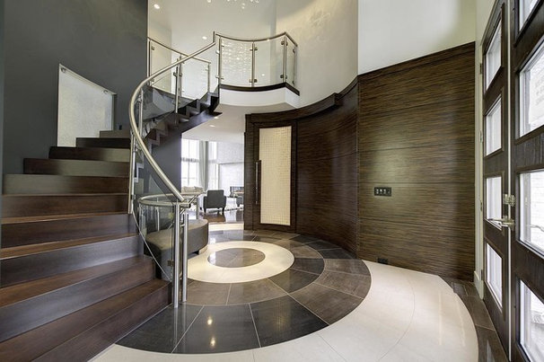 Contemporary Entry by Gino's Homes