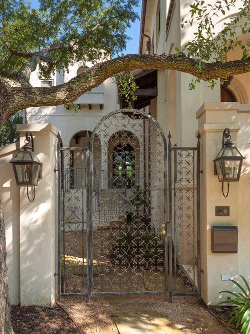 Iron Garden Gate Houzz