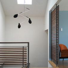 Contemporary Entry by Beach House Design & Development