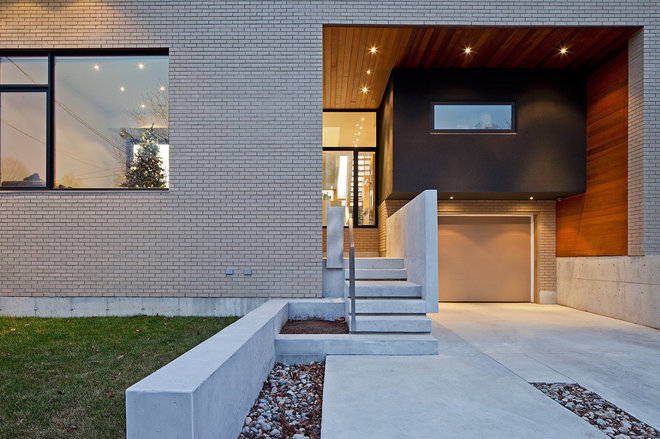 modern entry by Peter A. Sellar - Architectural Photographer
