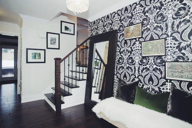 Eclectic Entry by Lindsay McCormick Design
