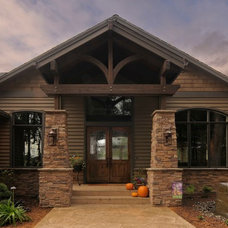 Craftsman Entry by BC Custom Construction