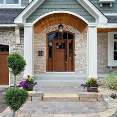 traditional exterior by Martha O'Hara Interiors