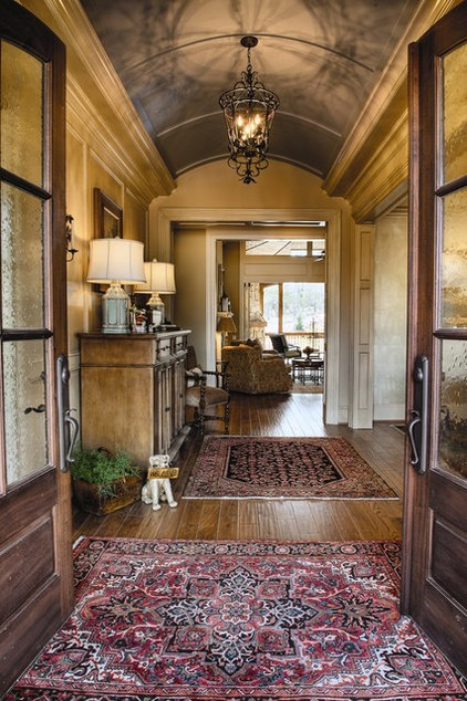 Traditional Entry by Milestone Custom Homes