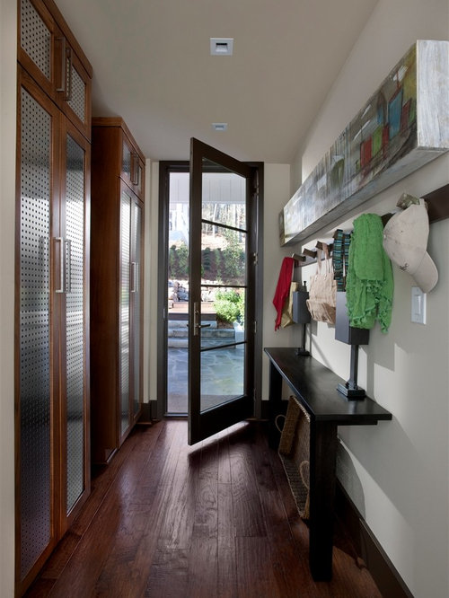 Narrow Entryway Design : Narrow entryway table houzz