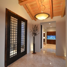 Contemporary Entry by Kyle Lindsey Custom Homes