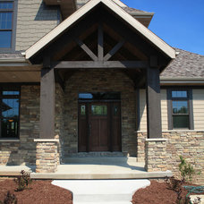 Traditional Entry by Brown County Home Builders Association
