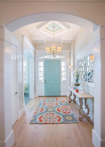 Transitional Entrance by JCD Custom Home Design