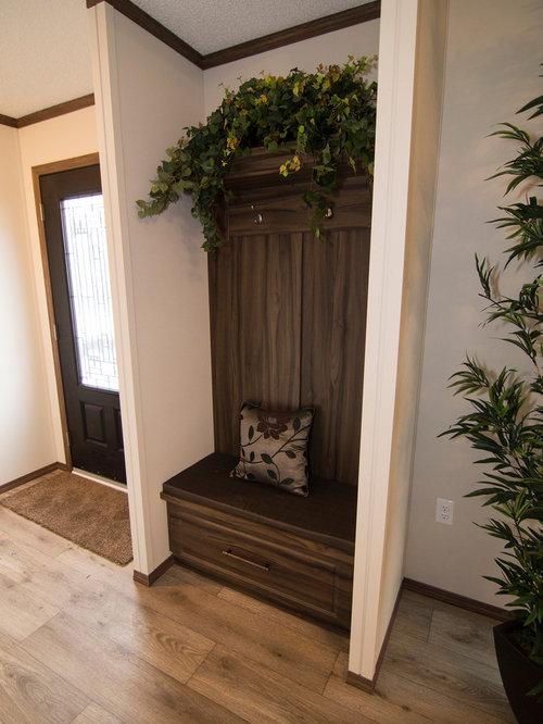 Rustic Entryway Design Ideas, Remodels & Photos with ...