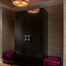Contemporary Entry by Evelyn Benatar, New York Interior Design