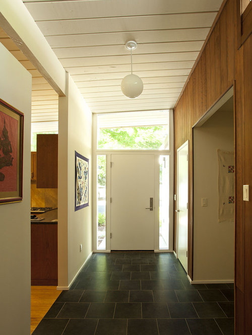 Foyer Entrance Quote : Midcentury quote wall entryway design ideas renovations