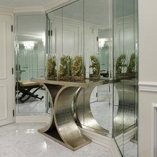 Contemporary Entry by Stanton Interiors
