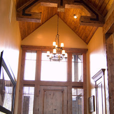 Traditional Entry by Pinetop Custom Homes