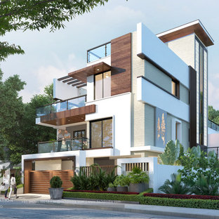 3d Bungalow Exterior Design CGI Visualization | Trending Dusk Rendering Ideas Fo