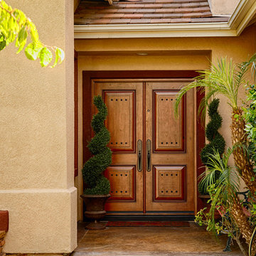 5 Foot wide Rustic Entry Doors