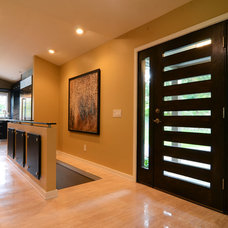 Contemporary Entry by Bryce and Doyle Craftsmanship