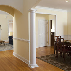 traditional entry by Just Perfect! Home Staging + More