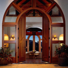 Contemporary Entry by Pinnacle Mountain Homes