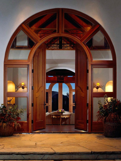 Large front door houzz for Large front entry doors