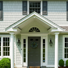 Traditional Entry by BURR ROOFING-SIDING-WINDOWS