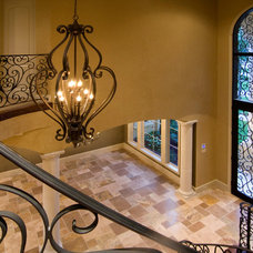 Mediterranean Entry by Croix Custom Homes