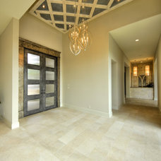 contemporary entry by Burdick Custom Homes