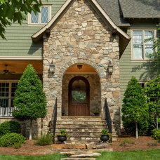 Traditional Entry by Artisan Custom Homes