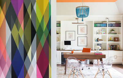 Houzz Tour: Color Lights the Way in a Tennessee Home