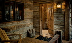 A cozy, welcoming entrance.