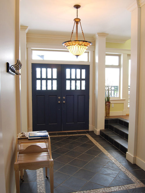 Houzz Front Foyer : Foyer tile home design ideas pictures remodel and decor