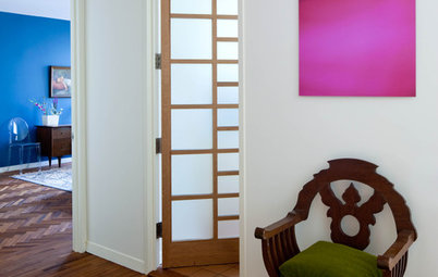 Material Choices: Translucent Glass Doors