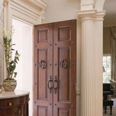 Traditional Entry by Andrew Skurman Architects