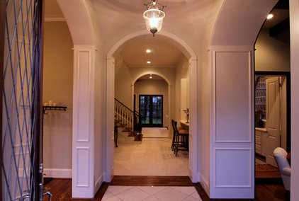 Traditional Entry by Parker Stuckey Residential